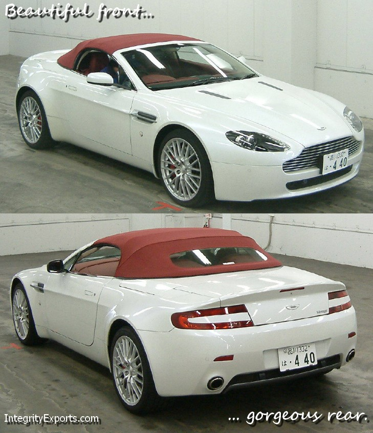 Japanese Car Auction Find: 2008 Aston Martin V8 Vantage