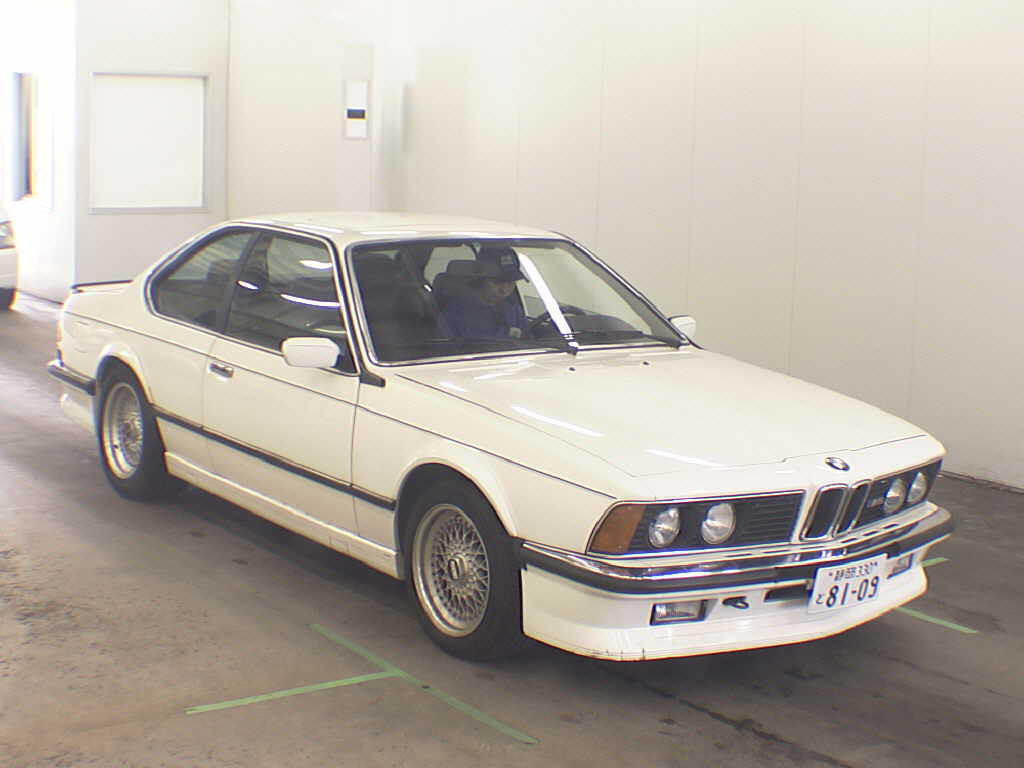 Bmw m6 e24 from 1985 front view