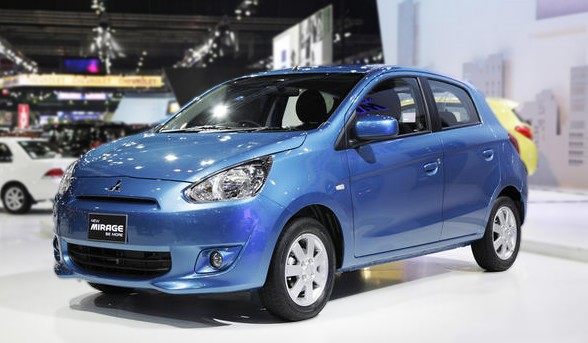 Mitsubishi Mirage Gets Kei Car Rivaling 27 2 Km L Fuel Economy Japanese Car Auctions Integrity Exports