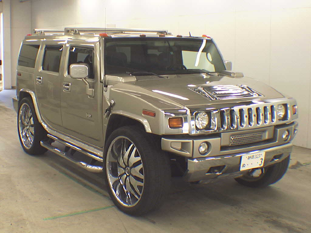 Japan car auction finds hummer h2 bling fest japanese car hummer h2 front vanachro Image collections
