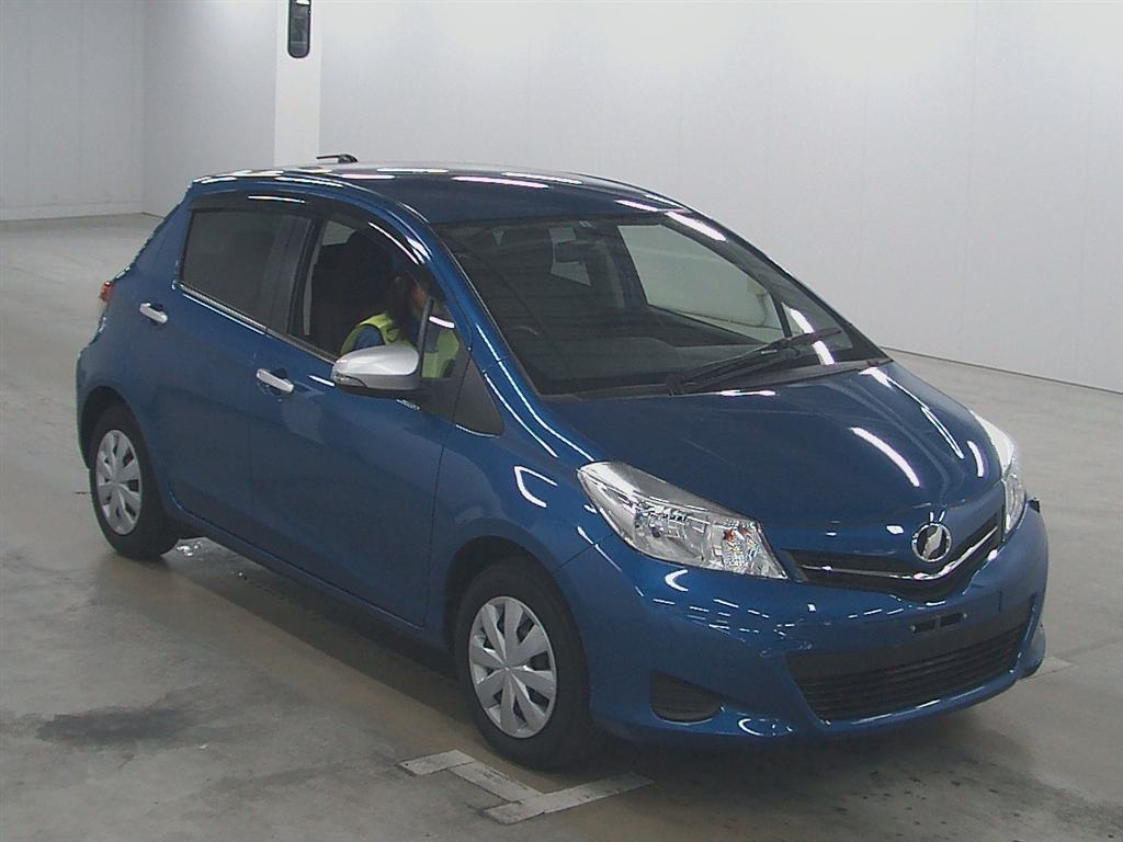 Flawless 2011 Toyota Vitz up for Auction in Nagoya
