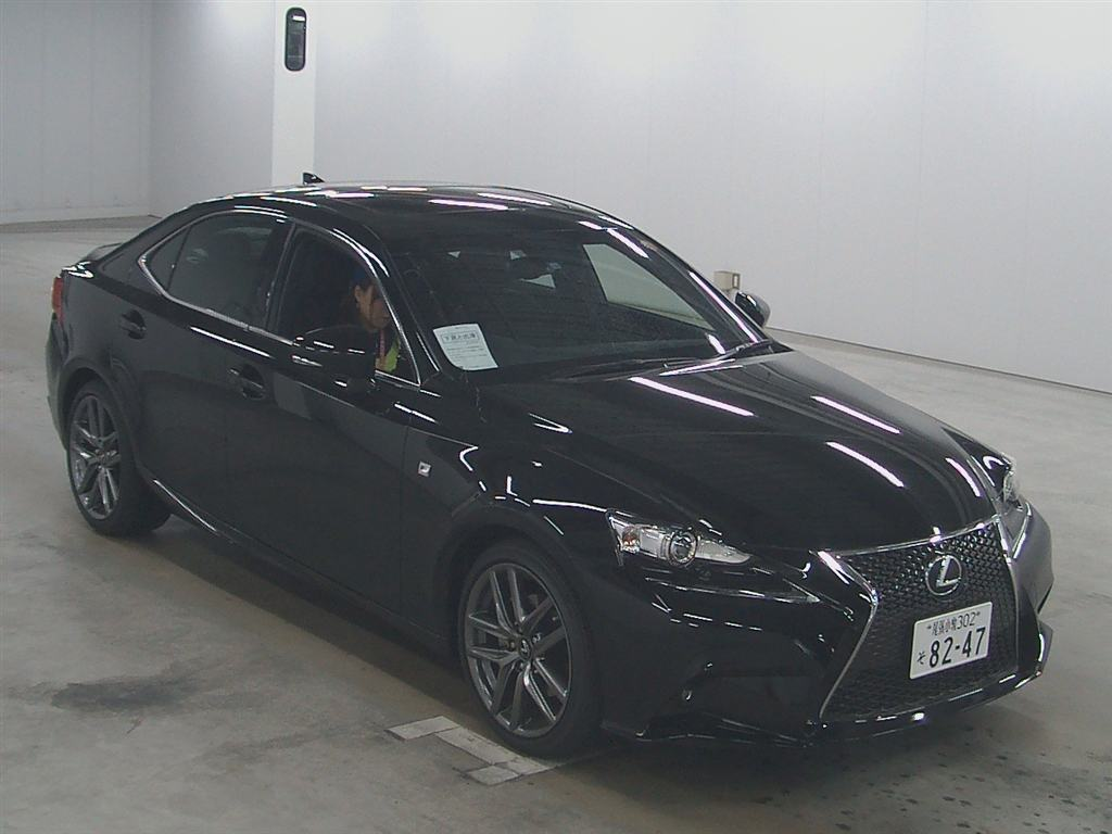 car auction find lexus is 250 f sport up for auction in nagoya japanese car auctions. Black Bedroom Furniture Sets. Home Design Ideas