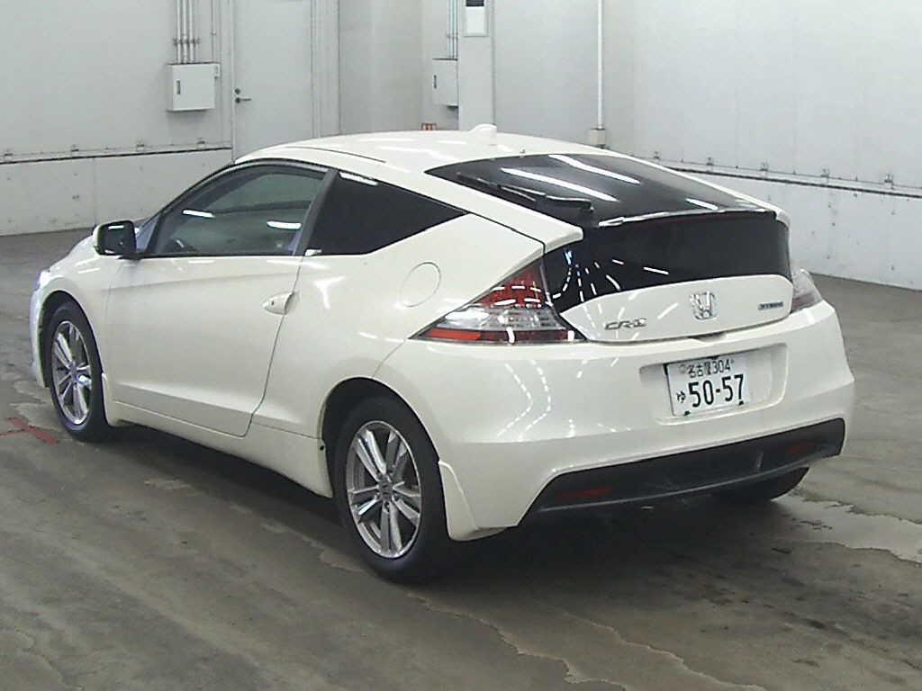 Crz For Sale >> 2010 Honda Cr Z Rear Jpg Japanese Car Auctions Integrity