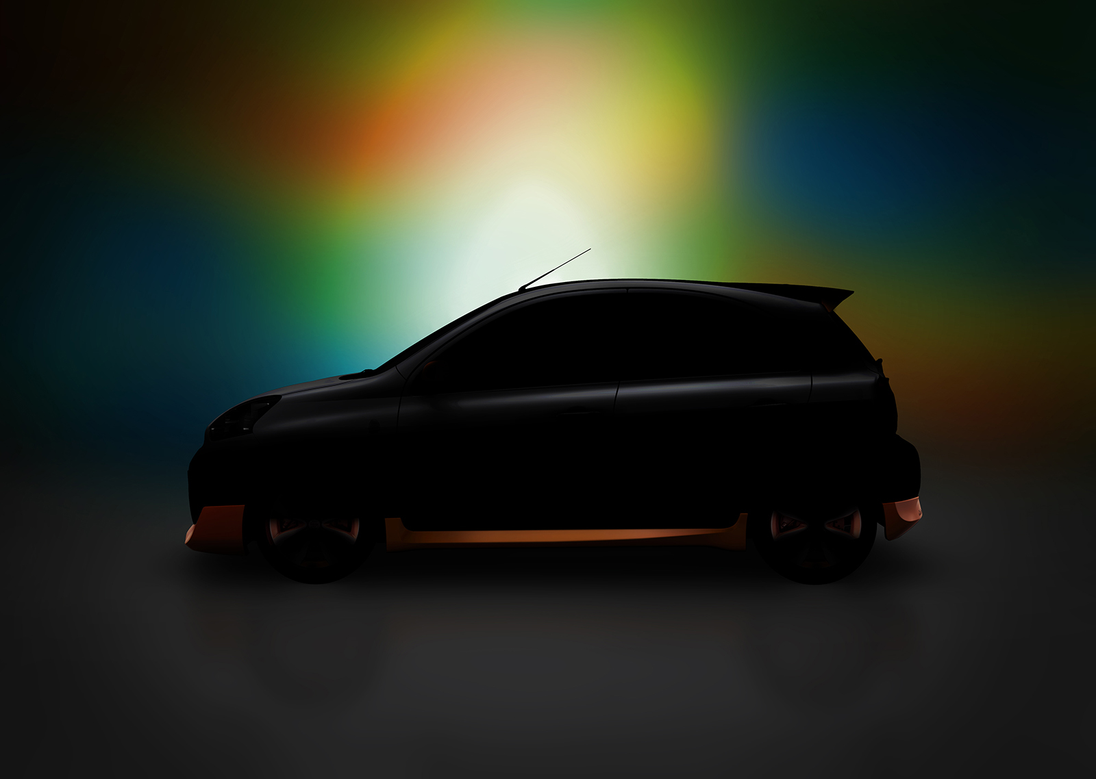 Nissan extrem ii concept teased before san paolo debut japanese 2014 extrem ii concept profile vanachro Gallery