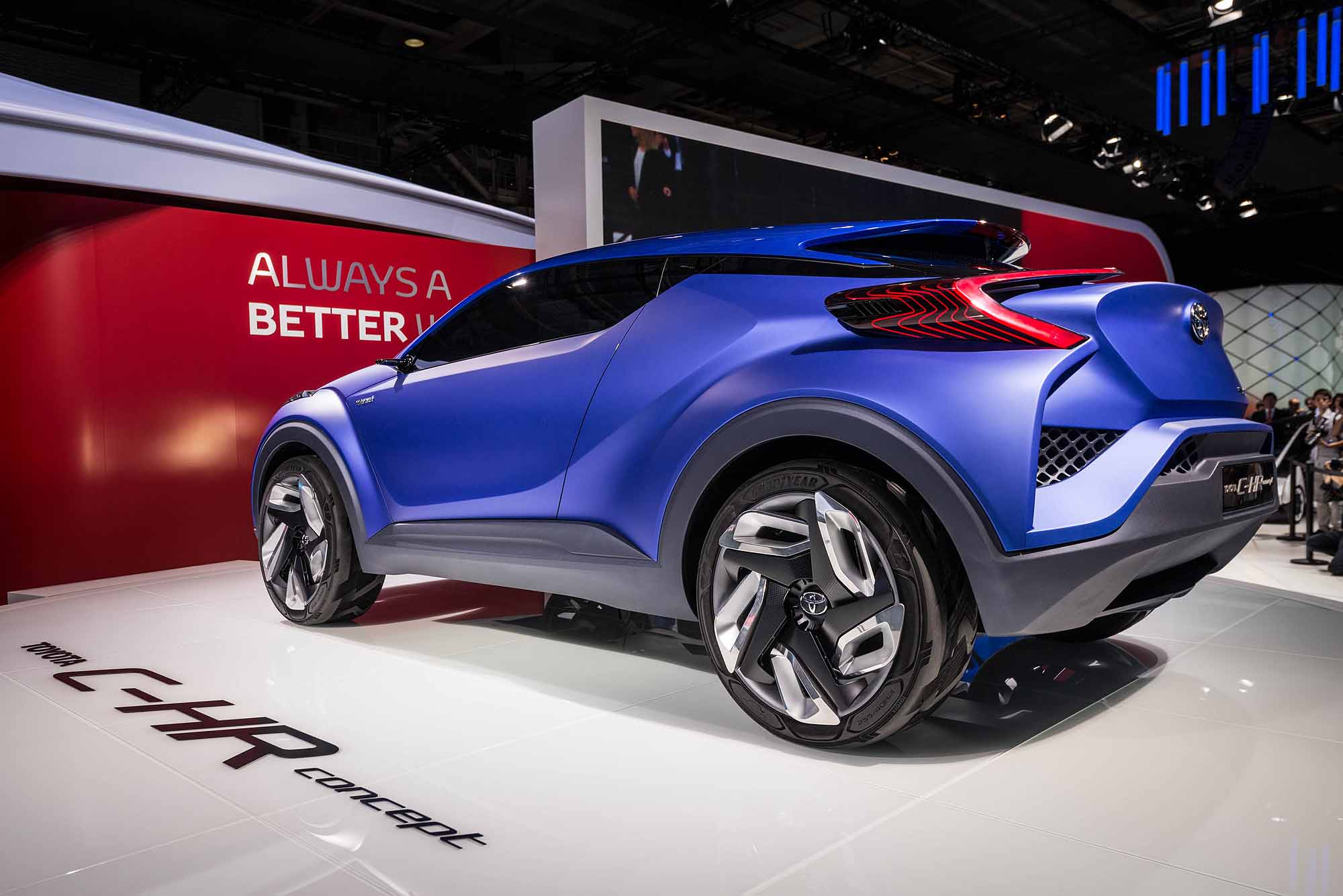 2014 Toyota C HR Concept rear view Japanese Car Auctions