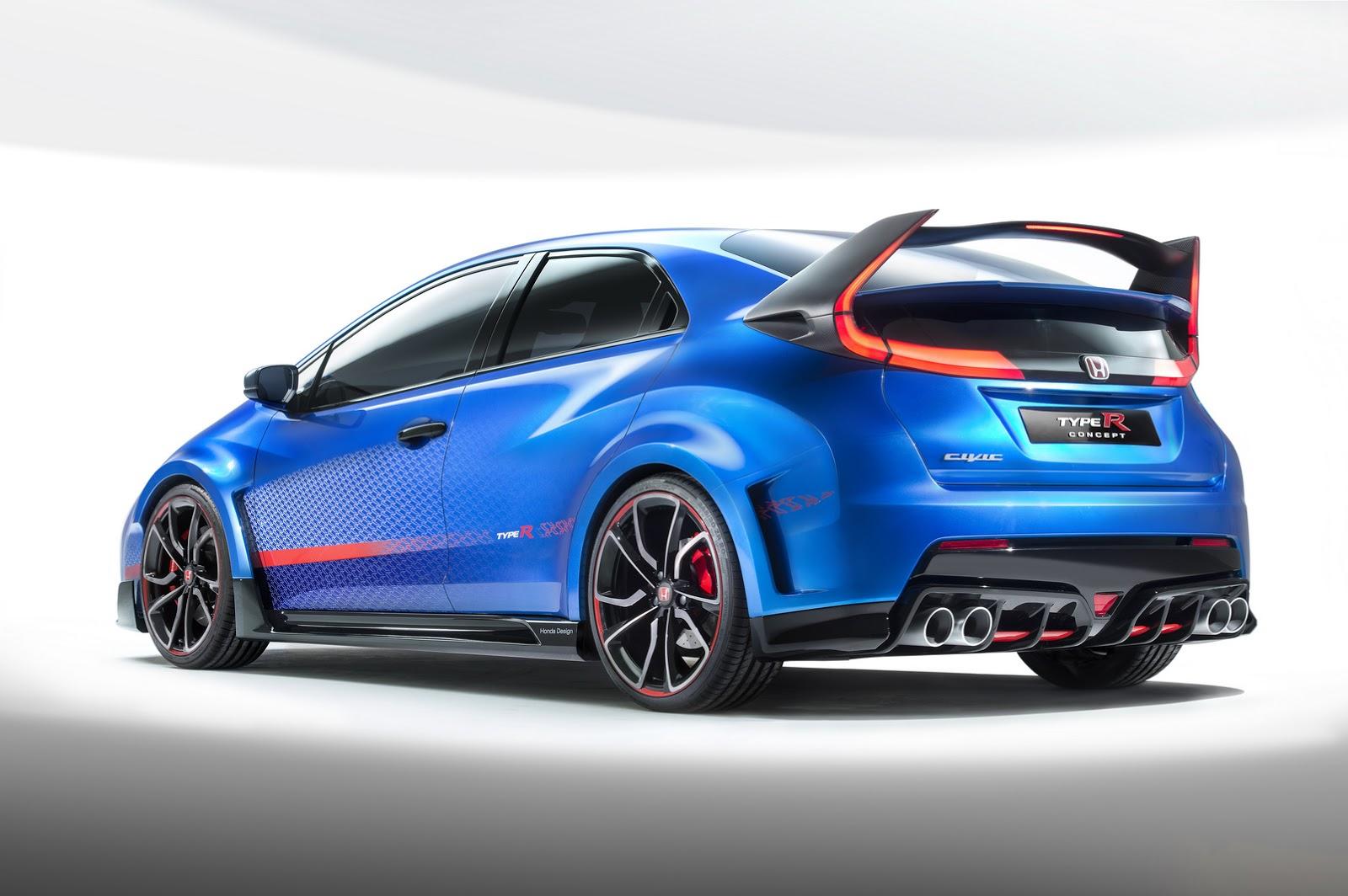 Honda Civic Type-R Concept Teased w/ New Performance Specs ...