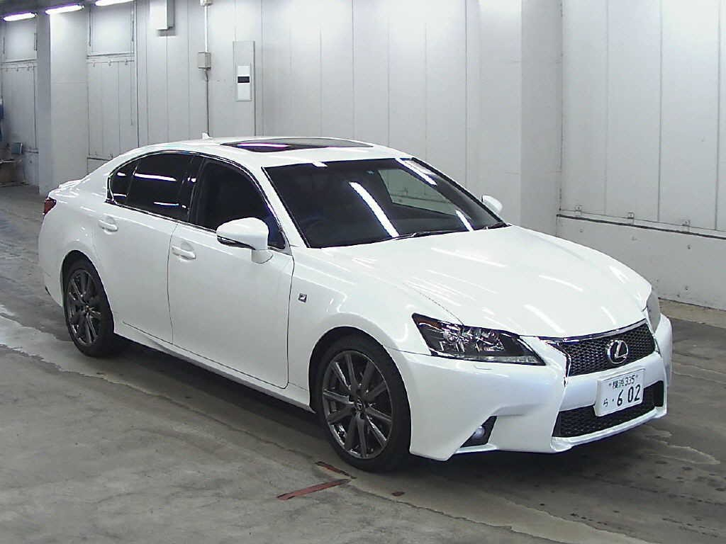 japanese car auction find 2012 lexus gs350 f sport. Black Bedroom Furniture Sets. Home Design Ideas