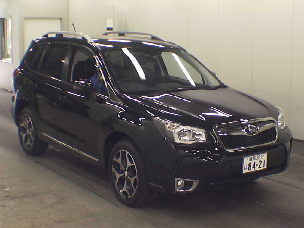 japanese car auction find – 2013 subaru forester 2.0xt - japanese