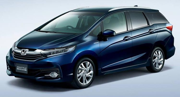 All New Honda Fit Shuttle Hybrid Coming To Jdm Japanese Car Auctions Integrity Exports
