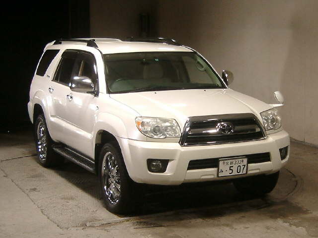 Japanese Car Auction Find 2006 Toyota Hilux Surf