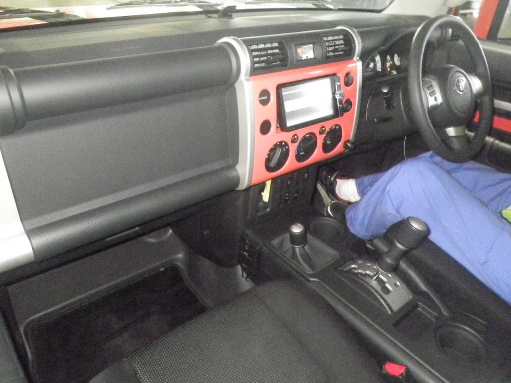 2013 Toyota FJ Cruiser Interior 1024×768