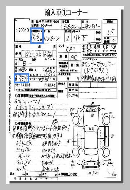 Date of First Registration v. Year of Manufacture - Japanese Car ...