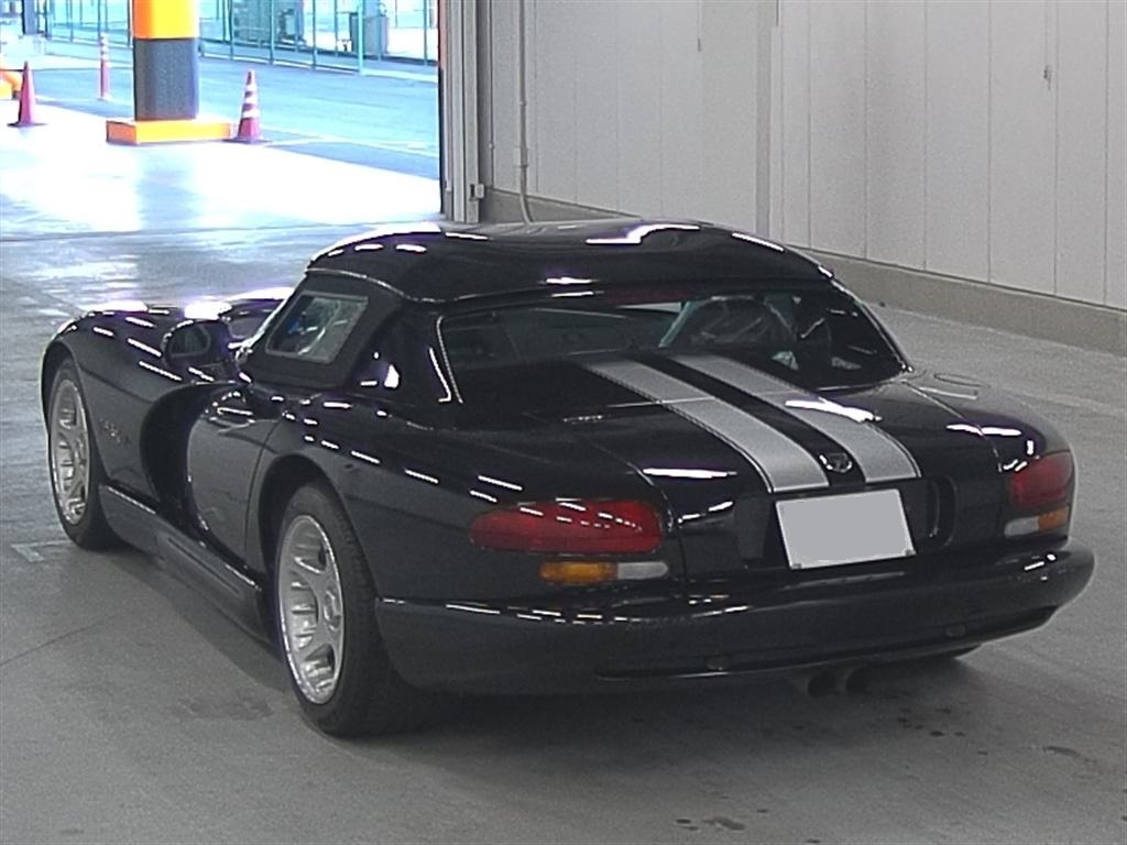 1996 Dodge Viper In The Japanese Car Auctions Japanese