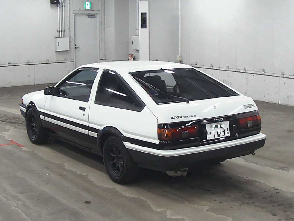 japanese car auction find toyota ae86 the drifter 39 s. Black Bedroom Furniture Sets. Home Design Ideas